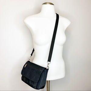 Travelon Black Convertible Crossbody Belt Bag